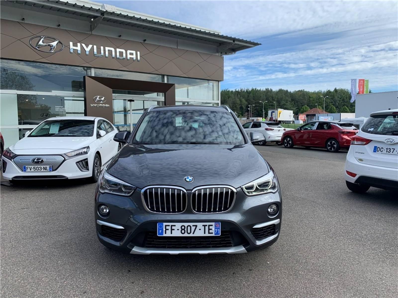 BMW X1 sDrive 18d 150 ch - véhicule d'occasion - Groupe Guillet - Hyundai - Zenith Motors – Montceau-les-Mines - 71300 - Montceau-les-Mines - 2