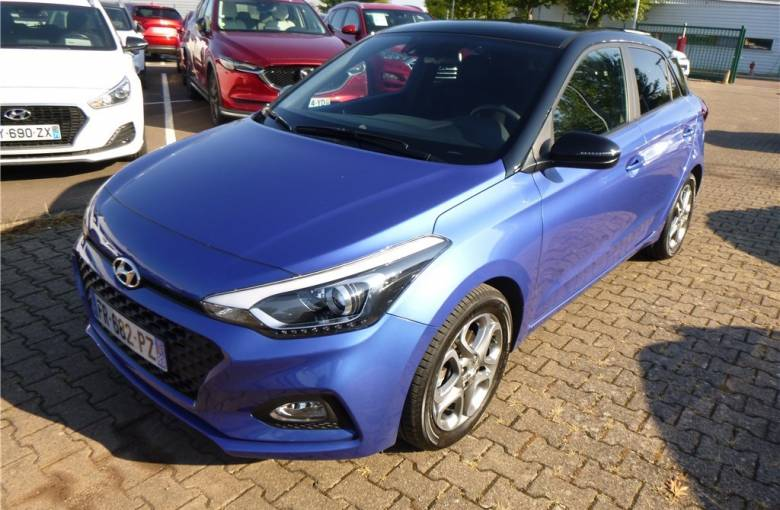 HYUNDAI i20 1.0 T-GDi 100  Edition #Style - véhicule d'occasion - Groupe Guillet
