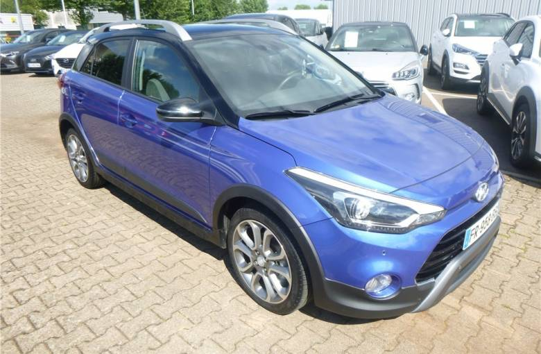 HYUNDAI i20 Active 1.0 T-GDi 100 DCT-7  Active - véhicule d'occasion - Groupe Guillet