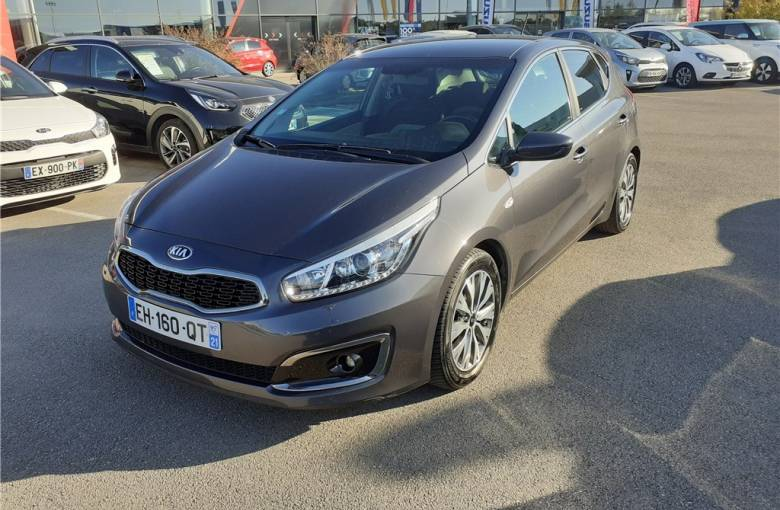 KIA Cee'd 1.0 T-GDI 120 ch ISG  UEFA EURO 2016 - véhicule d'occasion - Groupe Guillet