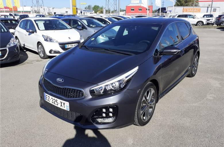 KIA CEED 1.6 CRDi 136 ch ISG BVM6  GT Line - véhicule d'occasion - Groupe Guillet