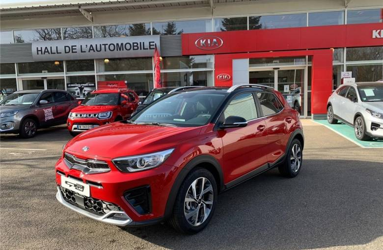 KIA STONIC MY21 Stonic 1.0 T-GDi 120 ch MHEV iBVM6  GT Line - véhicule d'occasion - Groupe Guillet