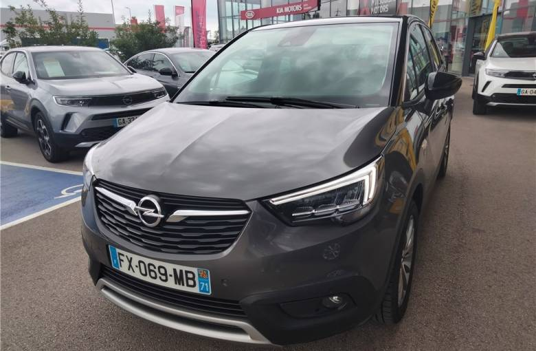 OPEL Crossland X 1.2 Turbo 110 ch  Opel 2020 - véhicule d'occasion - Groupe Guillet