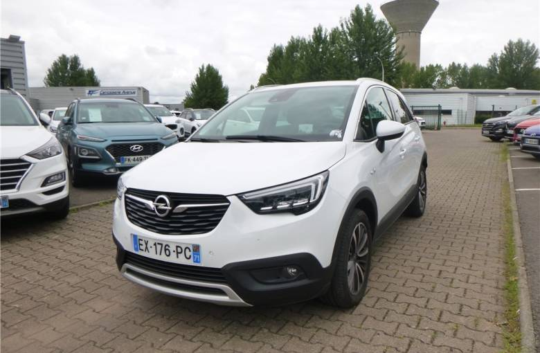 OPEL Crossland X 1.2 Turbo 130 ch  Innovation - véhicule d'occasion - Groupe Guillet