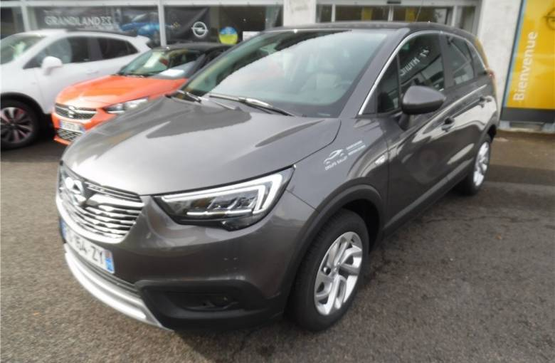 OPEL Crossland X 1.5 D 102 ch  Elegance - véhicule d'occasion - Groupe Guillet