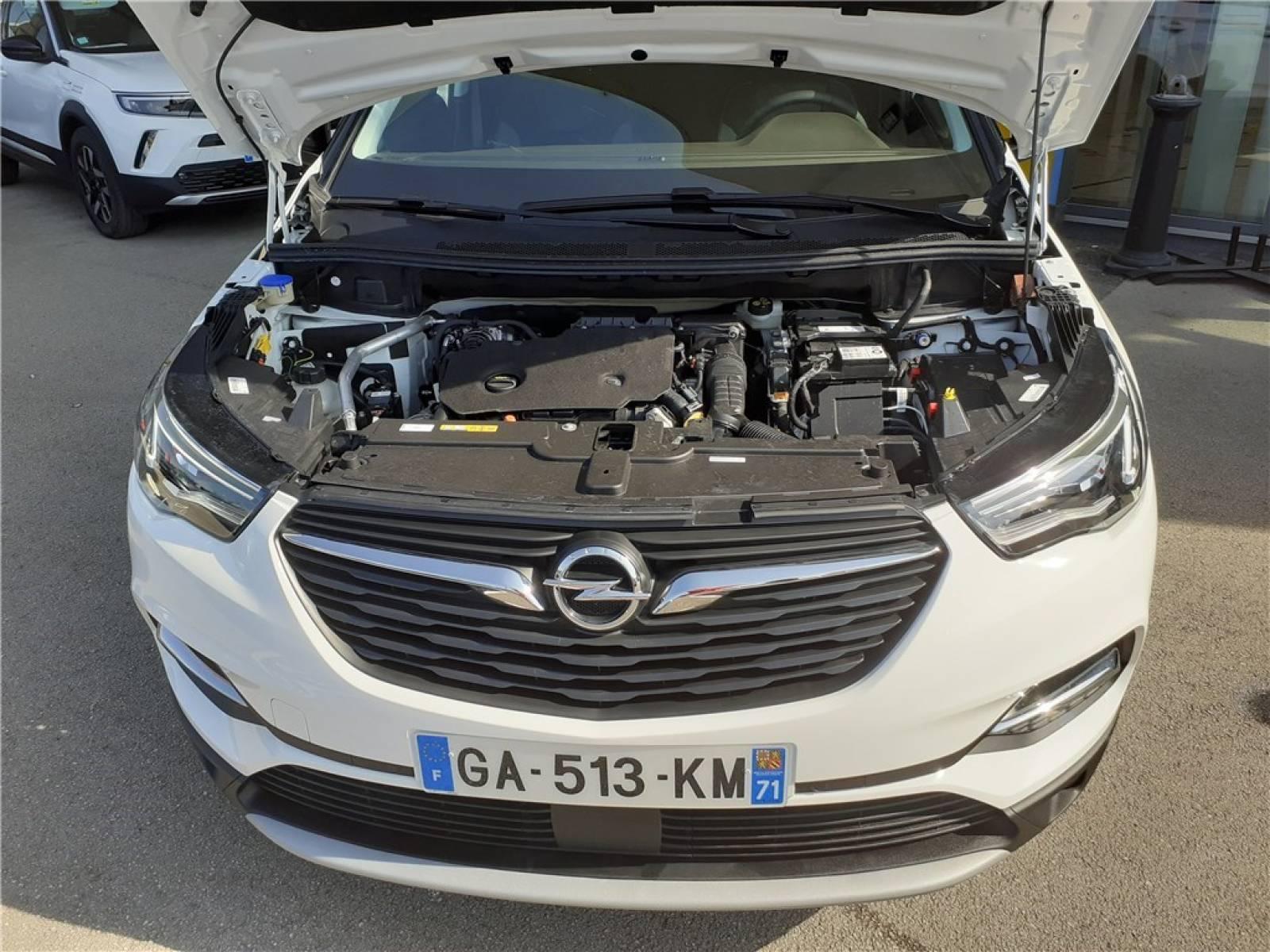 OPEL Grandland X 1.5 Diesel 130 ch BVA8 - véhicule d'occasion - Groupe Guillet - Opel Magicauto - Chalon-sur-Saône - 71380 - Saint-Marcel - 14