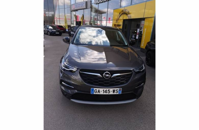 OPEL Grandland X 1.5 Diesel 130 ch  Ultimate - véhicule d'occasion - Groupe Guillet