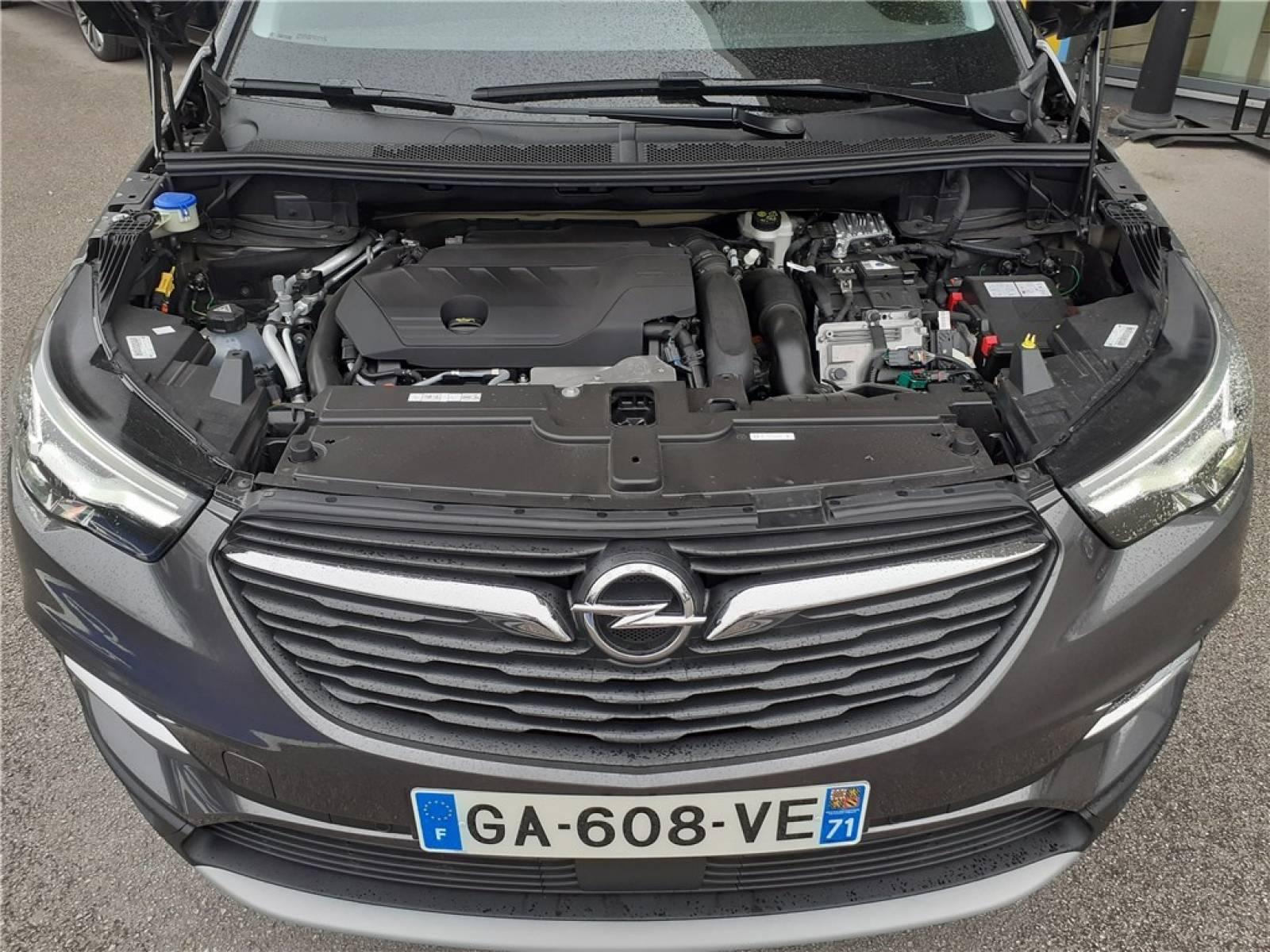 OPEL Grandland X Hybrid 225 ch BVA8 - véhicule d'occasion - Groupe Guillet - Opel Magicauto - Chalon-sur-Saône - 71380 - Saint-Marcel - 13