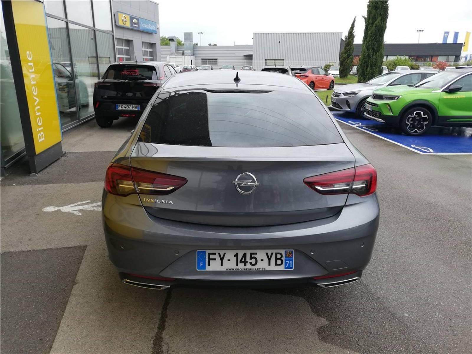 OPEL Insignia Grand Sport 2.0 Diesel 174 ch BVA8 - véhicule d'occasion - Groupe Guillet - Opel Magicauto - Chalon-sur-Saône - 71380 - Saint-Marcel - 6