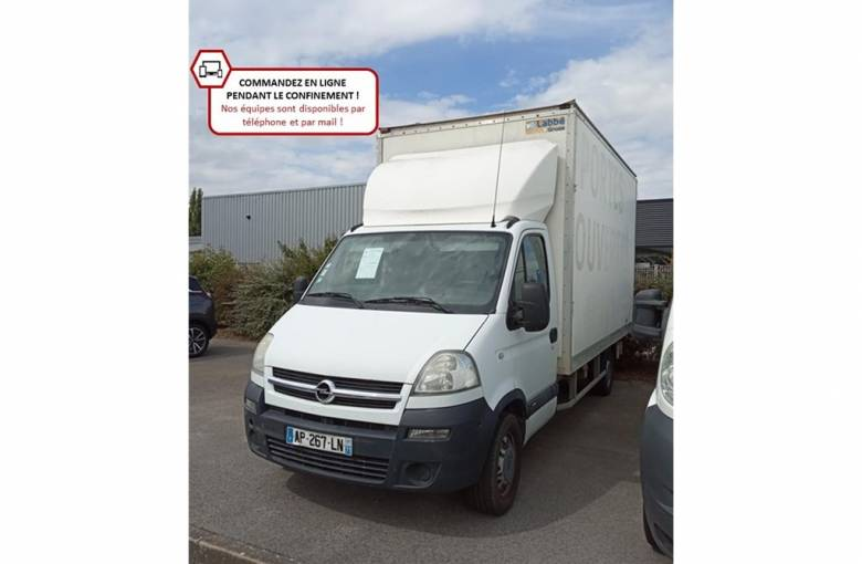 OPEL MOVANO CHASSIS CABINE MOVANO CHASSIS CAB C3500 M1 2.5 CDTI - 145  N/A - véhicule d'occasion - Groupe Guillet