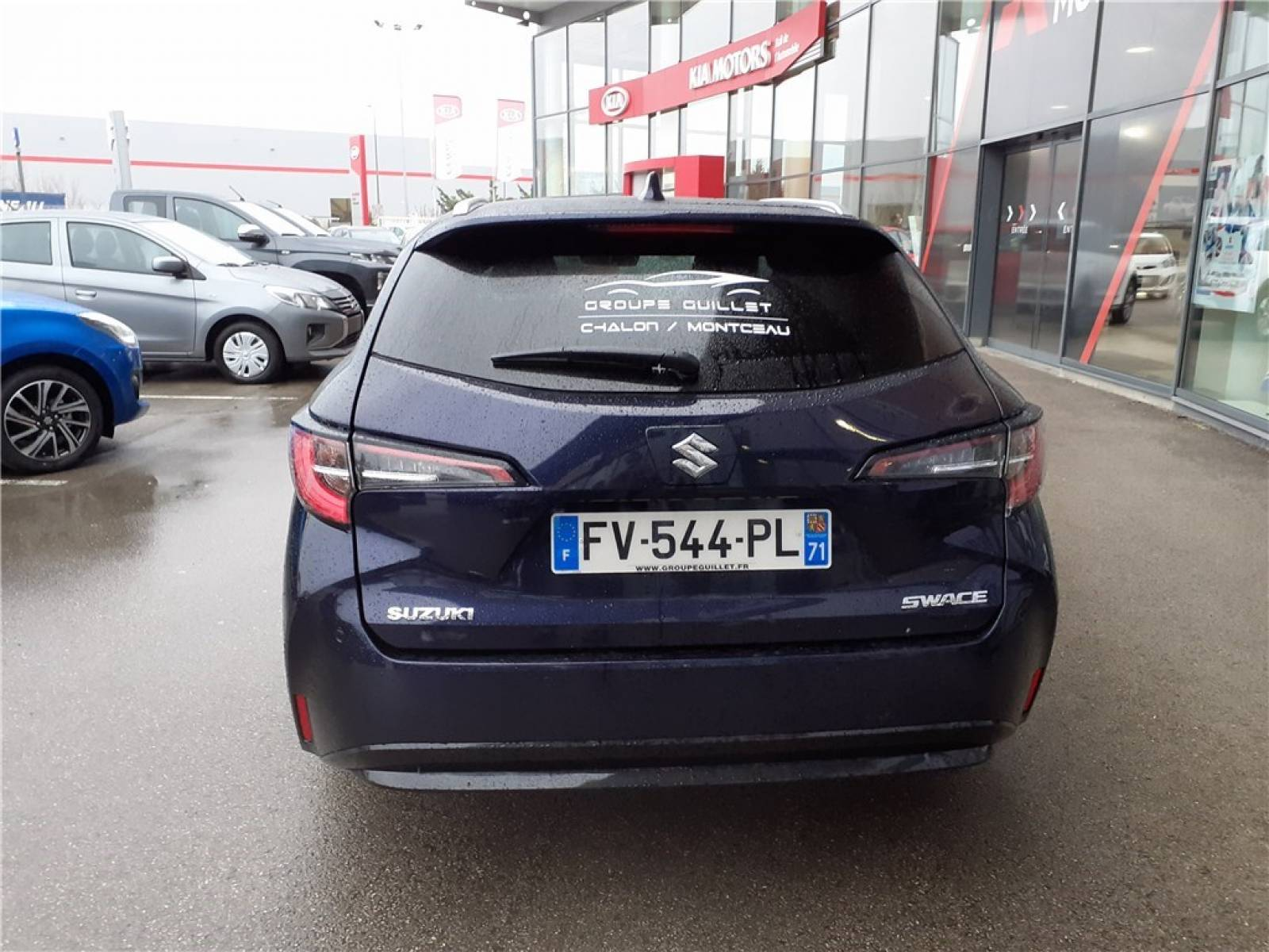 SUZUKI Swace 1.8 Hybrid - véhicule d'occasion - Groupe Guillet - Hall de l'automobile - Chalon sur Saône - 71380 - Saint-Marcel - 31